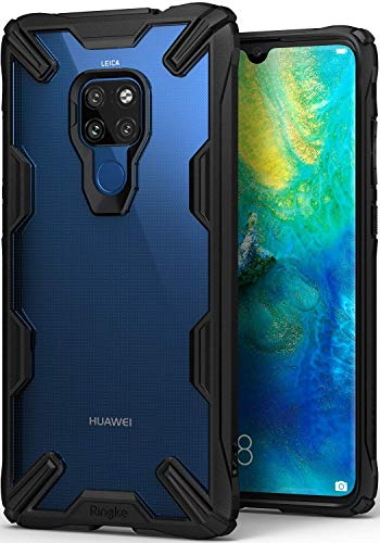 Capa Antichoque para Mate 20 (Tela 6.53), RINGKE Fusion X [Híbrida][Air Cushion][Certificado MIL-STD 810G], Huawei Mate 20 (Tela 6.53) (Black)