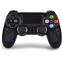Mando Inalámbrico para PS4 / PC / Android, HONGLI Gamepad Wireless Bluetooth Controlador para Playstation 4 con Vibración Doble Remoto Joystick