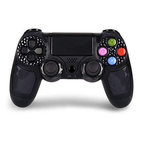 Mando Ps-4 Mando Inalámbrico para Ps-4/ PC / Android Gamepad Wireless Bluetooth Controlador para P4 con Vibración Doble Remoto Joystick