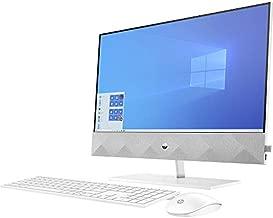 HP Pavilion 27 Touch Desktop 1TB SSD 2TB HD 32GB RAM (Intel Core i7-10700K CPU 3.80GHz Turbo Boost 5.10GHz, 32 GB RAM, 1 TB SSD + 2 TB HD, 27-inch FullHD Touchscreen, Win 10) PC Computer All-in-One