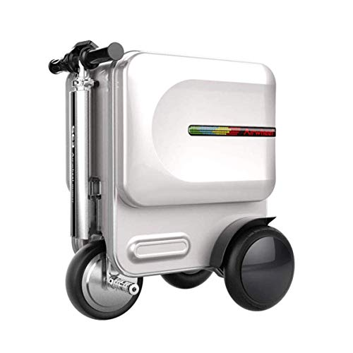 WNZL 29.3L manejable Inteligente Juego de Equipaje, App telescópico Mango eléctrica Plegable...