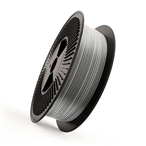 Filamento Elástico FILAFLEX 70A ULTRA-SOFT Dureza Shore/Filamento más elástico (mejor que flexible) del mercado/Alta Resistencia para Impresoras o extrusor 3d (2.85 mm 3 kg, Transparente)