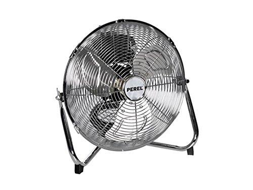PEREL - CFANF30N vloerventilator, metaal, 30 cm diameter ventilator, 38 cm hoog, 220-240 VAC, 50 Hz, 55W 176431