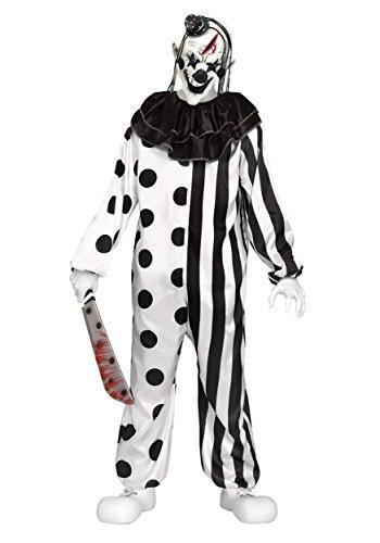 Fun World Costume de clown tueur pour enfant Taille M (8-10 ans)