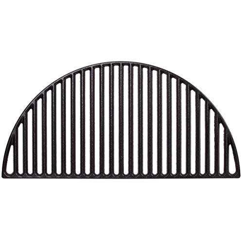 Kamado Joe KJ-HCICG Classic Joe Half Moon Cast Iron Cooking Grate, 1