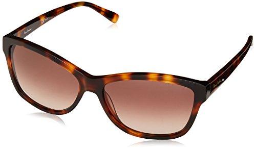 Pierre Cardin P.C. 8452/S HA 086 58 Gafas de sol, Marrón (Dark Havana/Brwn Sf), Mujer
