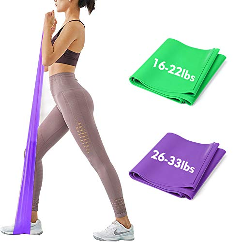 iMoebel Theraband 2er-Set Gymnastikband Fitnessbänder...