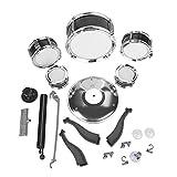 Kids Drum Set, Drum Set Junior fácil de Montar con 1 X Drum Set para niños pequeños para desarrollar el Talento Musical y la coordinación de los niños