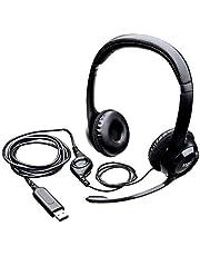 Logitech H390 USB Headset - brusreducerande mikrofon, plug and play-headsetet för PC eller Mac, ingen programvara behöver installeras