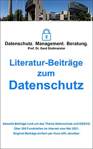 Literatur-Beiträge zum Datenschutz (Mai 2021)