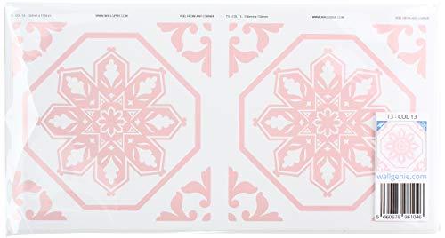Muurgenie Tegel Stickers x30 Pack, Zelfklevend vinyl, 150mm x 150mm, T3 13