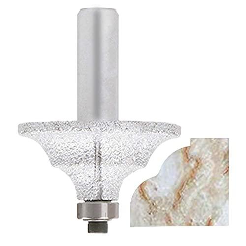 Broca para rueda de perfil soldado de diamante de 1/2 pulgadas para piedra de cuarzo, piedra artificial, granito, mármol, cerámica, plástico duro//281 (color: tipo B)