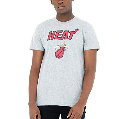 New Era Miami Heat LGH Camisa, Sin género, Multicolor, M