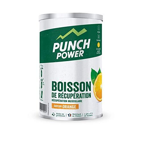 Punch Power Recuperación Bebida Naranja Tubo de 400 g