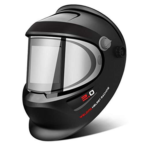 Casco de soldadura industrial máscara de soldadura fotoeléctrica automática máscara de soldador máscara montada en la cabeza soldadura de arco de argón luz de soldadura eléctrica Caretas para soldar