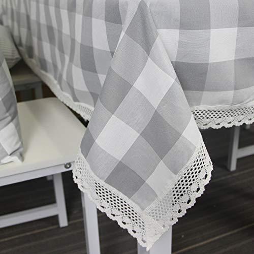 YOUYUANF Mantel Individual Rectangular antiincrustante Mantel, la última tecnología se Puede Lavar color140x220cm