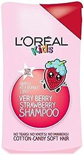 1シャンプー250ミリリットル中の子供たちは非常にベリーストロベリー2 (L'Oreal) (x 6) - L'Oreal Kids Very Berry Strawberry 2 in 1 Shampoo 250ml (Pack of 6) [並行輸入品]