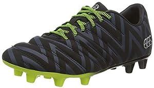 canterbury of New Zealand Unisex Kid's Phoenix 2.0 Firm Ground Rugby Boots, Black (Black Junior Unisex), 4 (36.5 EU) by Canterbury of New Zealand