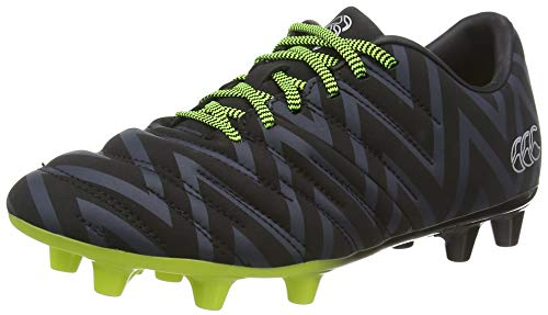 Canterbury of New Zealand Unisex-Kinder Phoenix 2.0 Firm Ground Rugbyschuhe, Schwarz (Black Junior Unisex), 31 EU