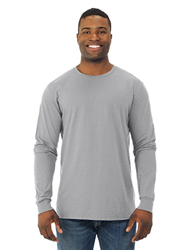 Fruit of the Loom Mens Jersey Long-Sleeve T-Shirt (SFLR) Athletic Heather XL