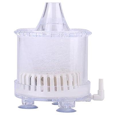 Qiraoxy Aquarium Fish Tank Accessories Air Biochemical Sponge Fish Tank Corner Filter Oxygen Pump Small