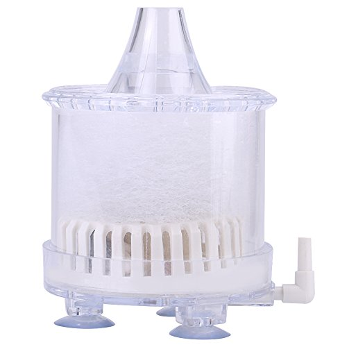 Aquarium Sponge Filter—Air Biochemical Sponge Fish Tank Hoekfilter zonder luchtpomp