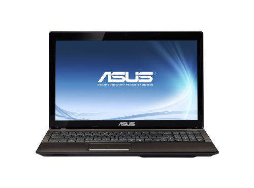 Asus X53U-SX065V 39,6 cm (15,6 Zoll) Laptop (AMD E-350, 1,6GHz, 6GB RAM, 320GB HDD, ATI HD 6310M, DVD, Win 7 HP)