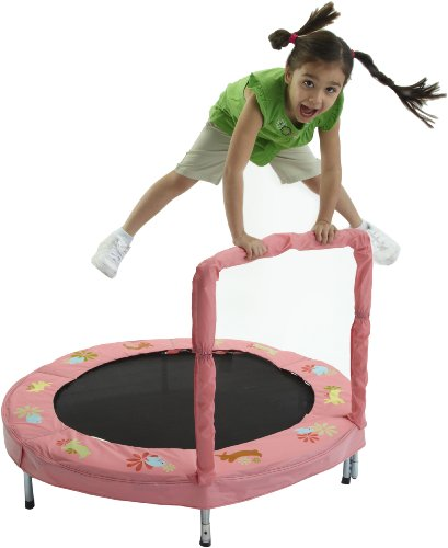Bazoongi 48-inch Bunny Bouncer Trampoline with Handle