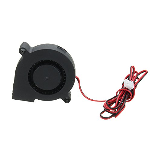 BliliDIY Dc 12V 2 Pin 0.13A 50Mm Ventilatore Per Turbina Senza Spazzola Per Stampante 3D