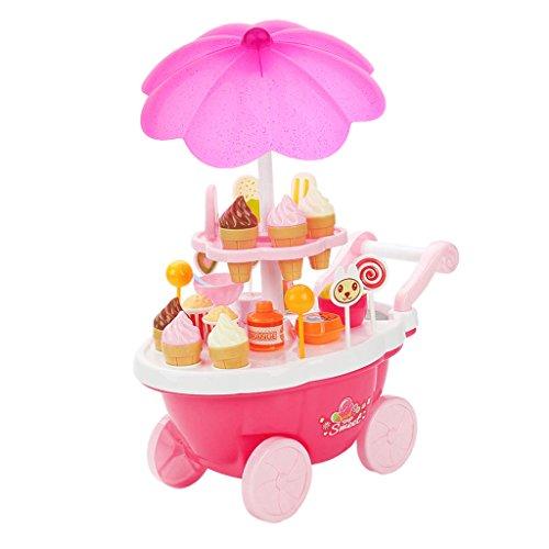 Jouet Crème Glacée Et Bonbons Panier Enfant Jeu Nourriture Educatif Cadeau