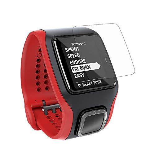 3 X Películas Protetoras Para Relógio Tomtom Multi Sport Cardio Runner 1