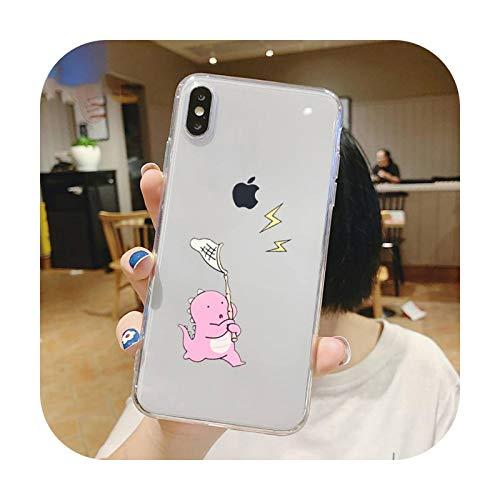 Funda creativa a prueba de golpes linda para el iPhone 5 5s 5c se 6 6s 7 8 11 12 Plus Mini x xs xr pro max-a11-para 7 Plus o 8 Plus