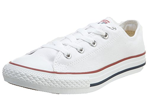 Converse Chuck Taylor All Star, Zapatillas de Lona Infantil, Blanco, 33 EU (1 UK)