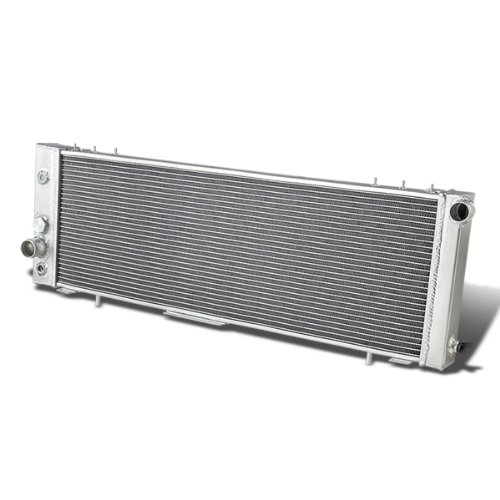 Full Aluminum 3-Row Racing Radiator Replacement for Jeep Cherokee Comanche Wagoneer XJ 2.8L 4.0L V6