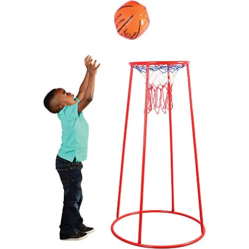 Constructive Playthings 14 Inch Portable Basketball Hoop...