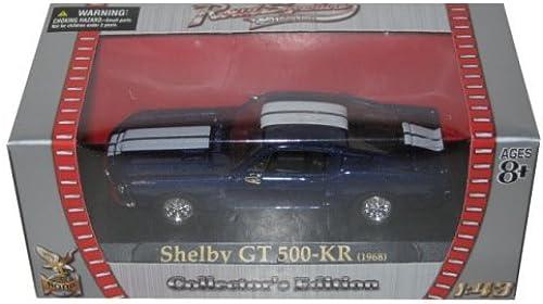 1968 Shelby GT 500 KR Blau 1 43 Diecast Car Model by Yat Ming