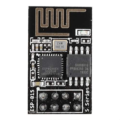 PUSOKEI Módulo Receptor transmisor-Receptor WiFi inalámbrico ESP8266, módulo transmisor-Receptor inalámbrico ESP8266 UART Serie a módulo WiFi bajo Consumo de energía