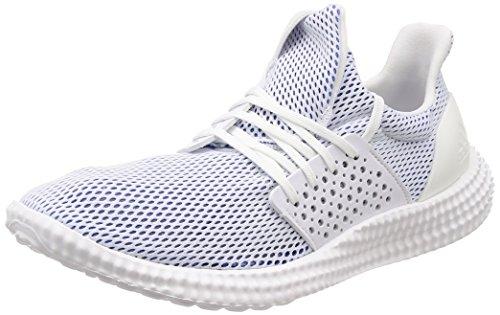 Adidas Athletics 24/7 W, Zapatillas de Deporte para Mujer, Blanco (Ftwbla/Ftwbla/Rostra 000), 44 EU