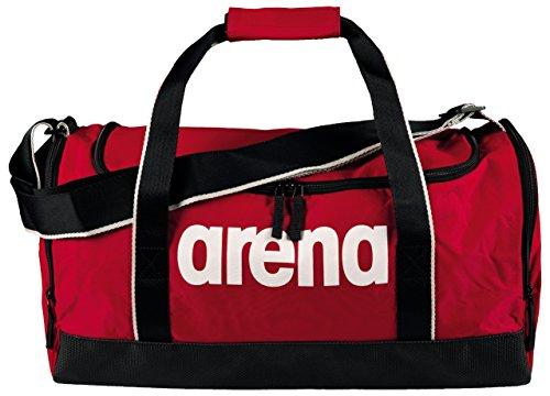 Arena Spiky 2 Medium, Borsa Nuoto Sportiva da 32 Litri Unisex Adulto, Rosso (Red Team), Taglia Unica