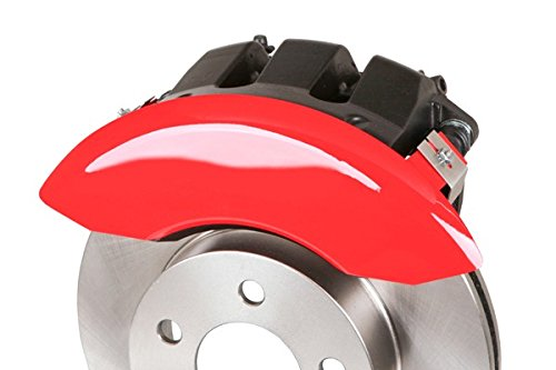 MGP Caliper Covers 10222SSHORD Red Caliper Cover