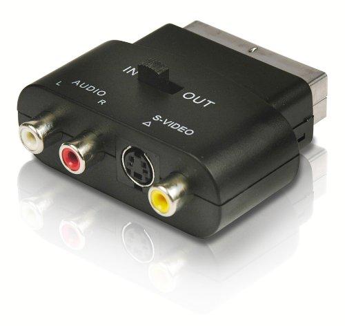Philips SWV2562W - Adaptador estéreo de audio (RCA/euroconector)