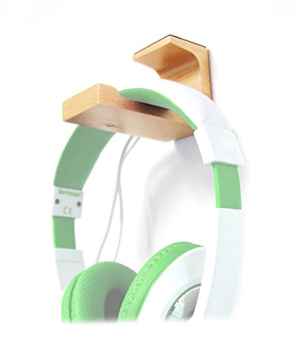 Computer Gaming Headset Stand Desk Mount for Logitech G933 Artemis Spectrum - Wireless RGB 7.1 Dolby and DTS - Desk Hanger Mount for Headphones - by HEADPHONE HANGER