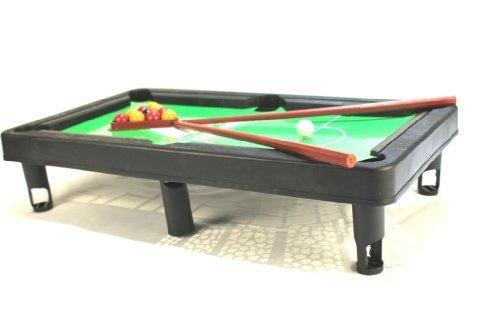 A to Z 08068 Jouet pour Enfant avec Mini Table de Billard 30 x 17,5 cm