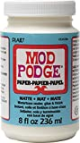 Mod Podge Waterbase Sealer, Glue and Finish for Paper (8-Ounce), CS11236 Matte Finish