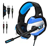 ONIKUMA Gaming Headset - Gaming Headphone for PS4, Xbox One, PC,...