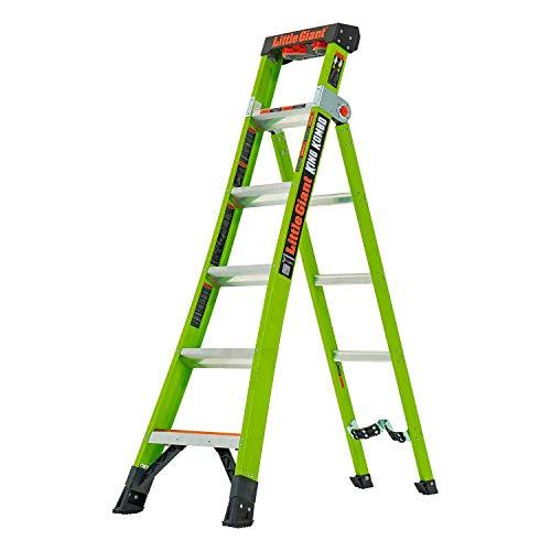 Little Giant 1303-206 Step Ladder, 6 Tread