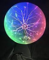 Farbige Effekte. Das Plasmakugellicht enthält drei Arten von Licht: Rot, Blau und Grün. Berührungsmodus Wenn Sie den Ball berühren, verschmelzen die Strahlen zu einem starken Strahl und folgen der Bewegung Ihrer Finger. Sprachmodus. Spielen Sie Musik...