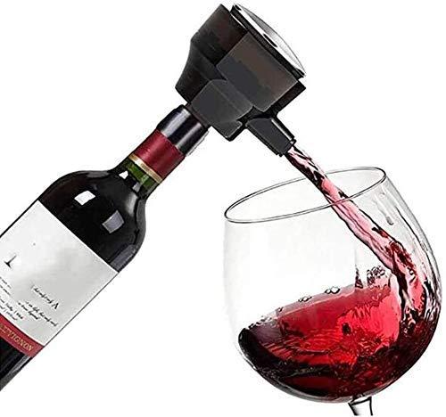 Decantador electrónico ultrasónico, aireador de burbujeador inteligente eléctrico para vino tinto, cerveza, vino, aumento de oxígeno rápido, herramientas de vino Accesorios oxidantes 726