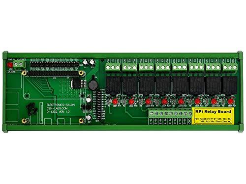 DIN Rail Mount 8 SPDT IoT Modulo relè di potenza per Raspberry Pi