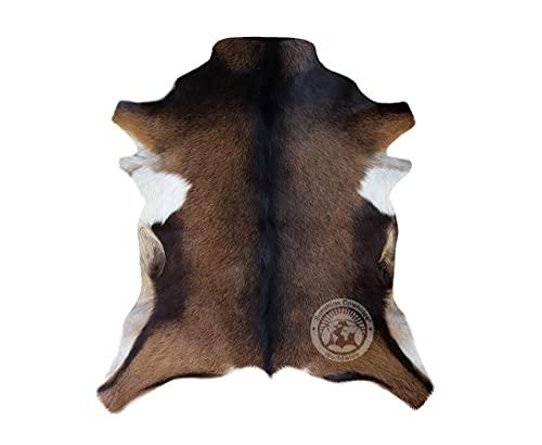 Alfombra de Piel de Cabra Colores Sólidos 75 cm x 60 cm - Pieles del Sol
